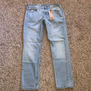 Men's Levi's 511 slim jeans blue stone size 30x30